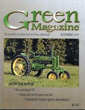 John Deere Green Magazine November 2010 Featured Models  Unstyled A & R Tractors