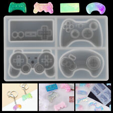 Game Consoles Handle Reusable Silicone Resin Mold Key Jewelry Making Tool Craft