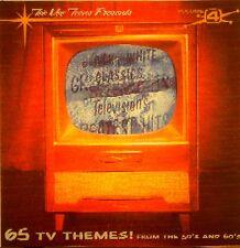 TELEVISION'S GREATEST HITS 50's & 60's - 'BLACK & WHITE CLASSICS'-65 Tunes-Vol#4