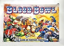 BLOOD BOWL 3rd Ed. Fantasy Football BOARD GAME & DEATHZONE [PUNCHED/ COMPLETE]