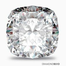 1.50 CT H/VS1/Ex Polish Square Cushion AGI Earth Mined Diamond 7.03x6.14x4.25mm