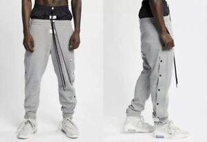 Fear Of God x Nike Tear Away Pants Dark Grey Travis Off White Jordan 1 3 4 5 11