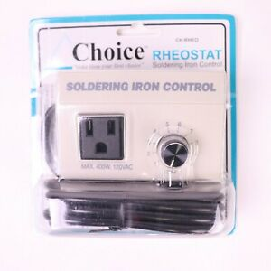 Choice Rheostat Soldering Iron Temperature Control 400 watts