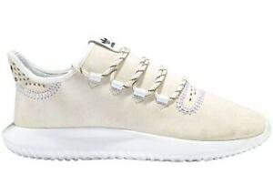 Adidas Originals Womens 5.5 Tubular Shadow Sneakers CQ0932 White Black Shoes