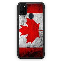 Kanada Splash Flagge Silikon Hülle für Samsung Galaxy M30s Motiv Design Canad...