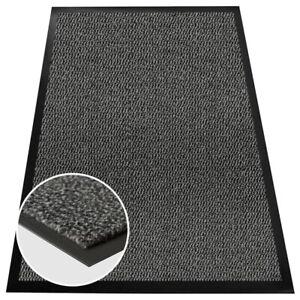 Grey Barrier Mat Large Door Mat  Entrance Runner Rugs Heavy Duty Kitchen Mat