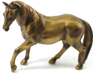 Cold Cast Bronze Collectible Horse Sculpture Home Office Decoration Statue Sale