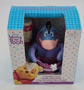 2000 Walt Disney Winnie The Pooh Eeyore Bubble Blower Machine Brand new in box