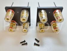 DENON POA 2200 Hochwertiges Lautsprecheranschluss-Set, Speaker Terminal