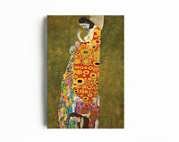 Art Deco Painting, Home Wall Art Painting, Gustav Klimt-The Hope Canvas Wall Art