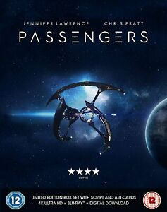 Passengers (4K Ultra HD + Blu-ray) Limited Edition With Script & Postcards