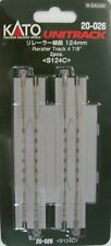KATO N SCALE 20-026 124mm RERAILER TRACK 2 pcs pack
