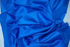 "Silk Remnants - Blue 8 m/m Habotai Silk - TWO Pieces - each 50 x 40cm - 19 x 15"""