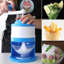 Hand Manual Ice Shaver Crusher Shredding Snow Cone Maker Machine Tool