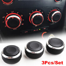 3PS FITFOR MAZDA 3 M3 SWITCH KNOB HEATER CLIMATE CONTROL BUTTONS DIALS A/C COVER