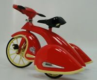 """Tricycle """"Too Small For Child To Ride On"""" Miniature Metal Frame Collector Model"""