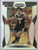 2019-20 Prizm Draft Carsen Edwards Silver Holo Rookie SP No. 98
