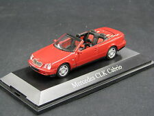 Schuco Mercedes-Benz CLK Cabrio 1:43 Red (JS)