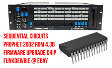 Sequential Circuits Prophet 2002 ROM 4.3B Firmware Upgrade Chip / BrandNew EPROM