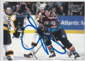 Joe Sacco Autograph 98-99 Pacific Islanders Card  Ducks - Capitals