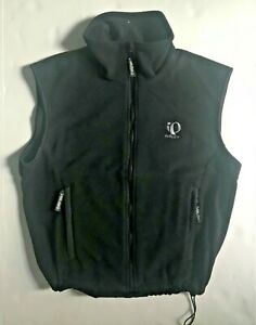 New PEARL IZUMI Technical AmFib Blk Zip Outdoor Cycling Hiking Vest S Free Ship