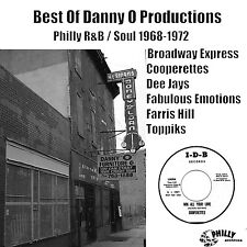 Best of Danny O Productions - Philly R&B / Soul 1968-1972 - CD-R