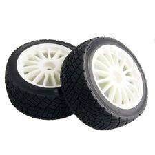 RC Electric WR8 Flux Rim Tires&Wheel 4PCS sets HPI 107870 White