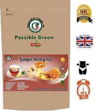 Ginger and Raw Honey Tea,Detox,Immune system booster,20 Teabags,40g