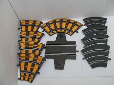MES-48018Carrera Car Racing 33 St. verschiedene Bahnteile mit Gebrauchsspuren,