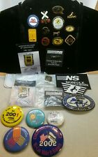 ☆ Lot 25 Norfolk Southern Railroad Lapel Pins / buttons & patches /Safety & Anni