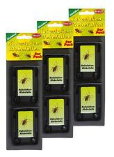 24 x Kakerlaken-Klebefallen, Ungeziefer-Falle, Insektenfalle, Köderdose