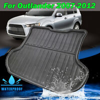 For Mitsubishi Outlander 2007-2012 Rear Trunk Cargo Mat Boot Liner Floor Tray