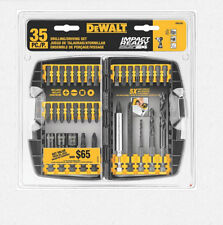 New DeWALT DW2153 35 Pieces Impact Drill Driver Ready Accessory Set