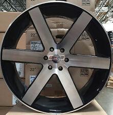 26 Wheels Tires Rims Black Mch Concave Escalade Sierra Denali Baller 6 Style 28