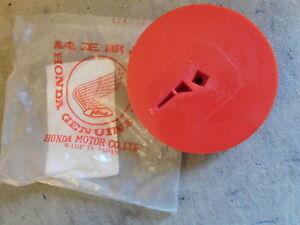 NOS OEM Petock Fuel Valve Lever 1986-1989 Honda TRX350 Foutrax 4x4 -Passion RED