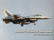 "Hobby Master 1:72 HA3876 F-16c bloque 25 ""Ghost esquema"" 64th AGRS"