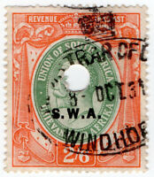 (I.B) South-West Africa Revenue : Duty Stamp 2/6d
