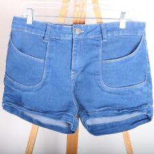 Clube Jeans Luigi Betrolli Denim Jean Shorts Women's 42 Blue