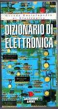 Dizionario di elettronica Grande Enciclopedia Jackson libri elettrotecnica PC HF