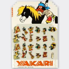 Pin's Yakari Présentoir avec 2 séries complètes de 12 pin's