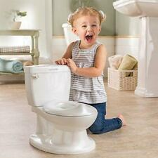 Summer Infant My Size Potty Training Toilet Toddler Boys & Girls Flushing White
