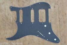 Golpeador Stratocaster Lonestar Negro Zurdo HSS Lefty Humbucker Pickguard