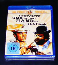 SHE LEFT UND DIE RIGHT HAND DES TEUFELS BUD SPENCER / TERENCE HILL BLU-RAY NEW
