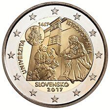2 euro Slovacchia 2017 Accademia Istropolitana