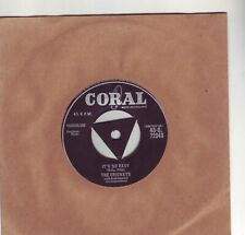 BUDDY HOLLY AND THE CRICKETS IT'S SO EASY ORIGINAL CORAL 45 1958