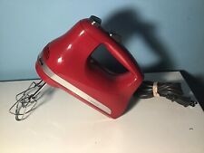 KitchenAid Ultra Power 5-Speed Hand Mixer - Empire Red (KHM512ER) 1/B64739C
