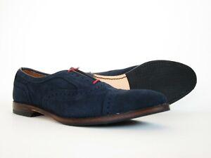 Allen Edmonds Strand Suede 6347 Cap Toe Oxford Dress Shoes 11.5B 11.5 B