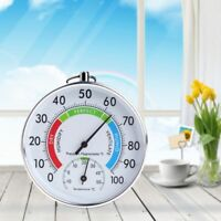 Temperature and Humidity Analog Indicator Indoor Outdoor Thermometer Hygrometer