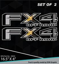 4X4 SPORT OFFROAD DECAL STICKER FOR 2015 2016 FX4 F150 F250 F350 RANGER 20035