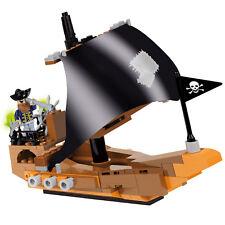 140 pièces COBI Enfants Pirates Jack's Pirate Ship Model Kit Toy Boat Figure Blocks